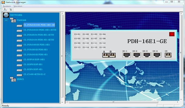 Cutelink EasyView SNMP NMS Network Management System